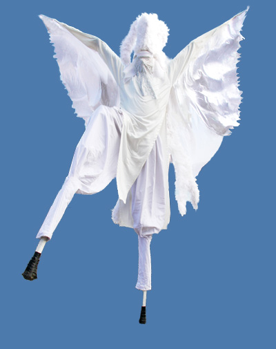 angel stiltwalker