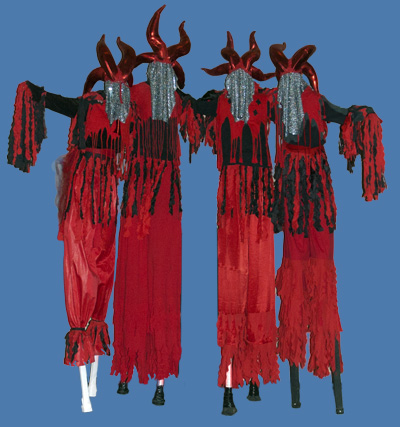 devil stiltwalkers