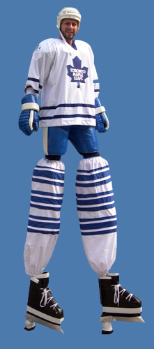 sports hockey stiltwalker