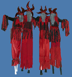 stiltwalkers devil